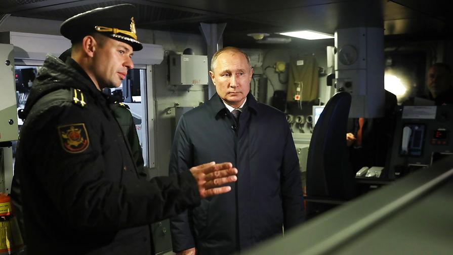 «Циркон» обязательно будет»: Путин осмотрел «Гремящий»