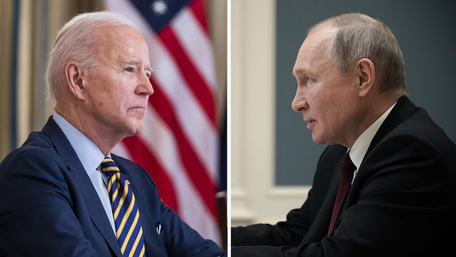 Байден рассчитывает обсудить ситуацию вокруг Украины на встрече с Путиным
