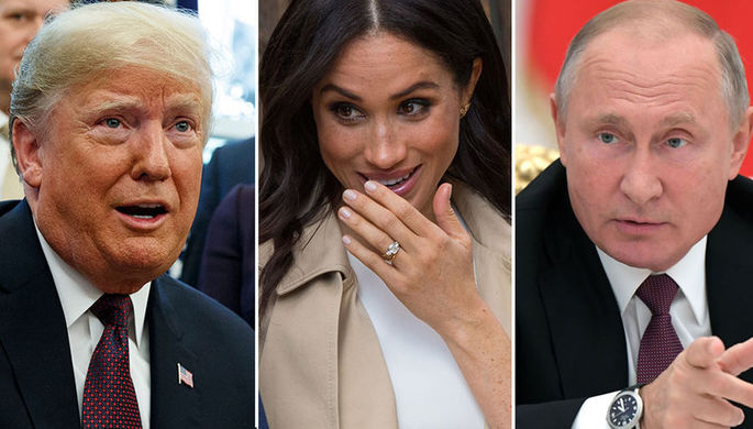 Путин, Трамп и Меган Маркл: кто станет «Человеком года»