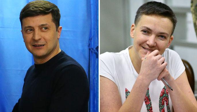 Увольнять и увольнять: Савченко дала Зеленскому совет