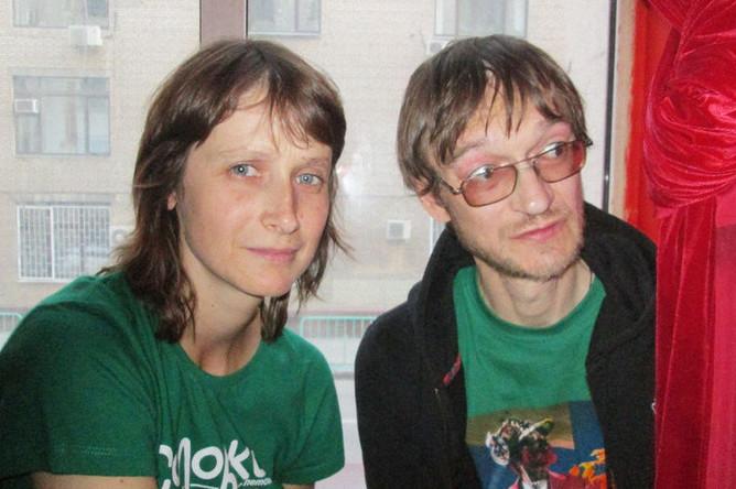 Арина Строганова и Борис Усов, 2013 год