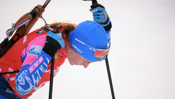 Российская биатлонистка Ирина Старых