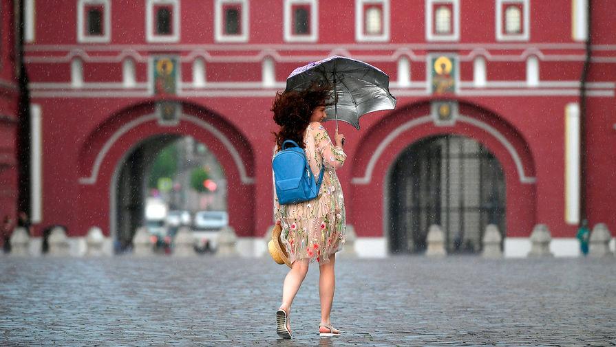 В Москве в пятницу ожидается до 16С и сильный ветер