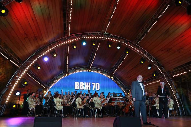 Празднование 70-летия лидера ЛДПР Владимира Жириновского