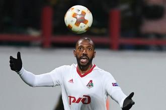 Игрок ФК «Локомотив» Мануэл Фернандеш