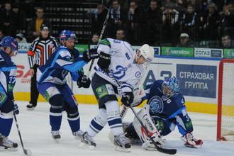 Вратарь минского «Динамо» Андрей Мезин стал одним из главных героев матча