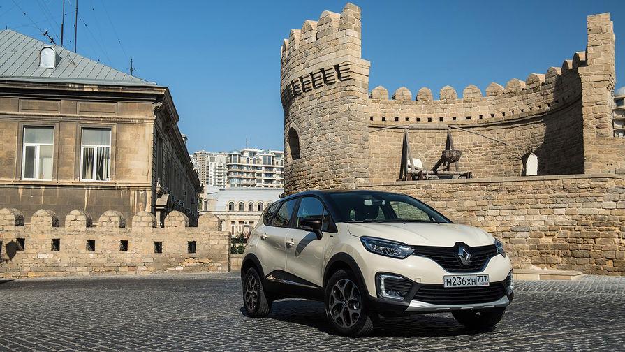 Renault Kaptur отличается полностью светодиодной оптикой Pure Vision и динамическими линиями...