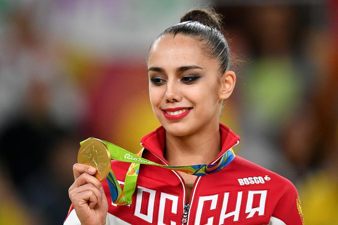Российская гимнастка Маргарита Мамун