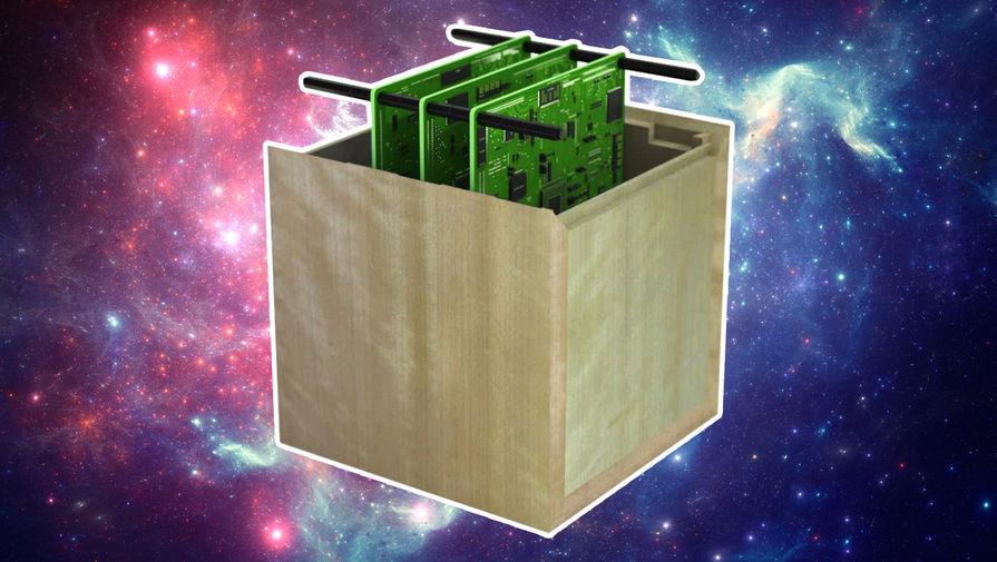 Японцы предложили запускать в космос деревянные спутники