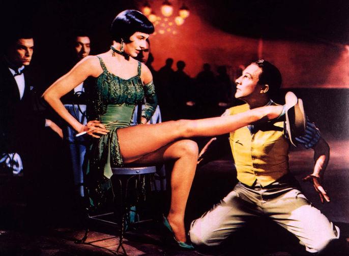 Лесли Кэрон и Джин Келли в фильме «Американец в Париже» (1951)