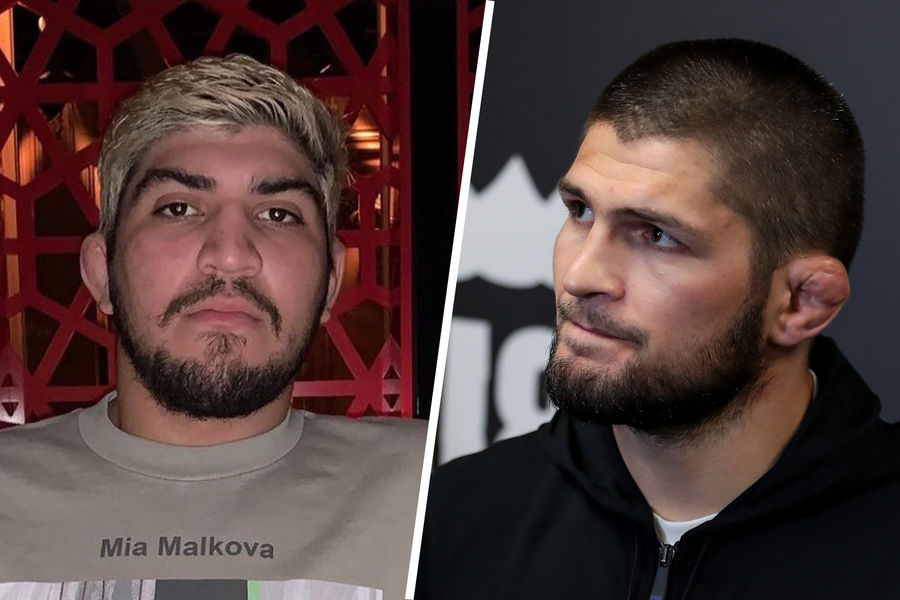 Диллон Дэнис и Хабиб Нурмагомедов
