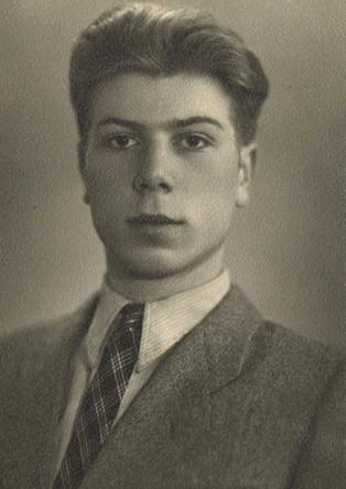 Вадим Мулерман в молодости