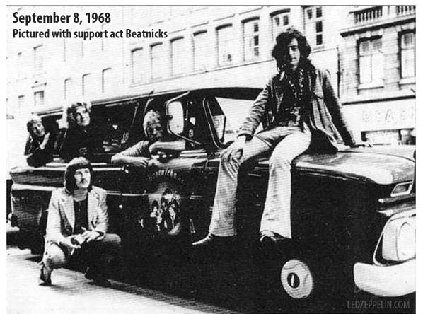 Led Zepplin, 1968 год