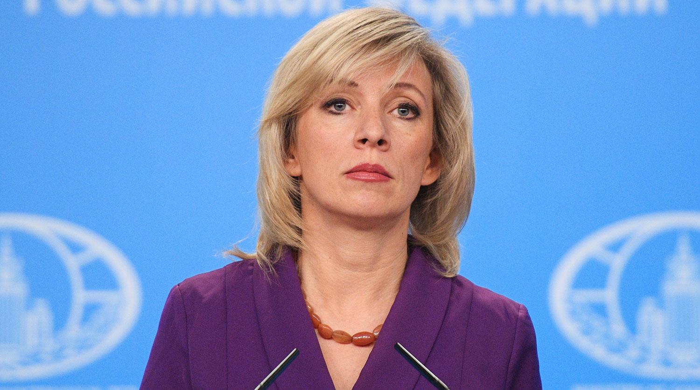 Захарова отреагировала на беспорядки в Грузии