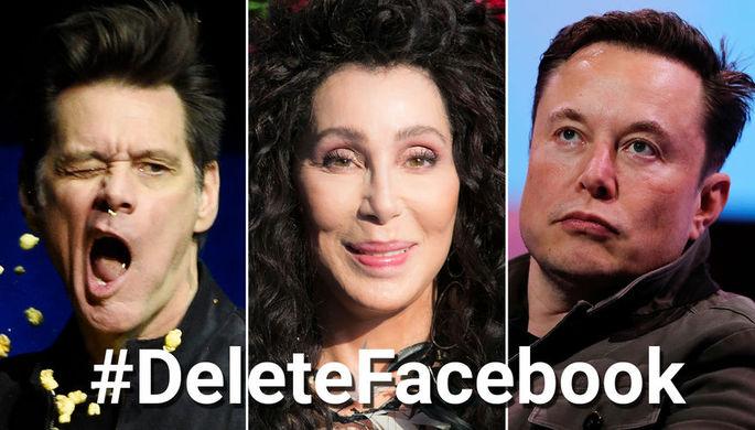 Бунт против Facebook: что звезды не простили Цукербергу