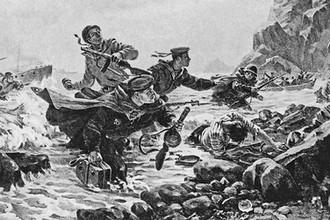 Андрей Плотнов. Десант на Курильских островах. 1947 год