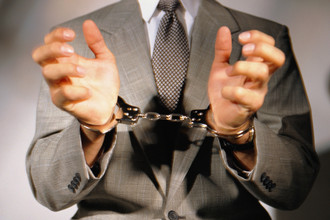 Задержан с поличным при получении взятки