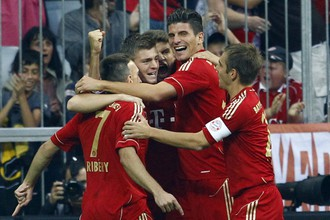 «Бавария» одержала шестую победу подряд в чемпионате Германии