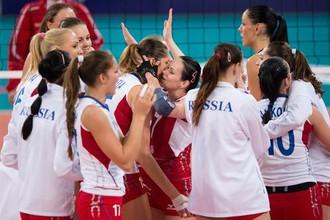 Сборная России по волейболу вышла в финал чемпионата Европы