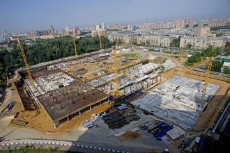 Несмотря на сложности, строительство стадиона ЦСКА продолжается