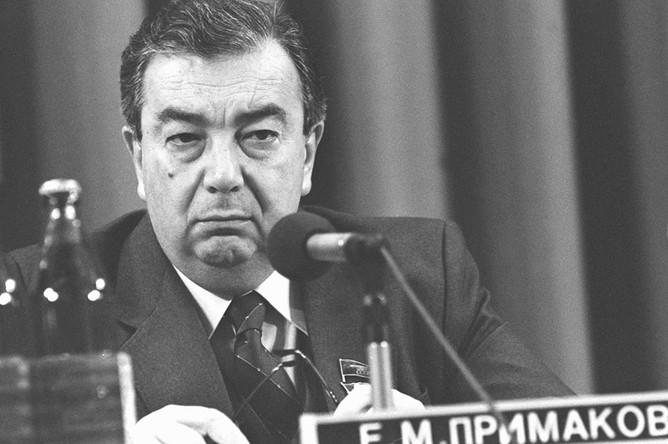 Евгений Примаков, 1987