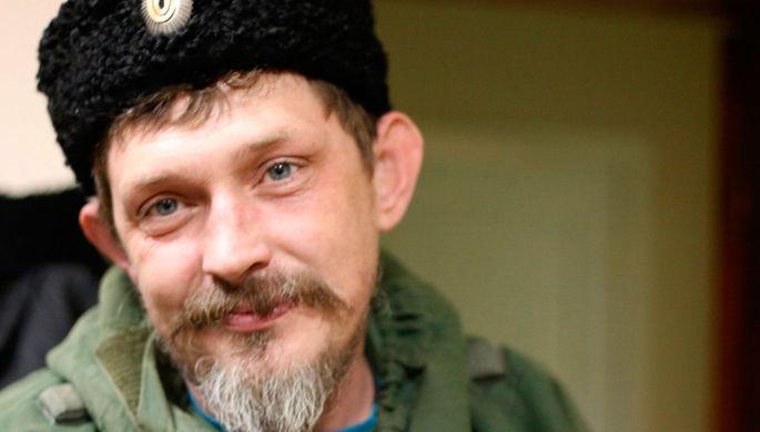 Полевой командир ЛНР Павел Дремов