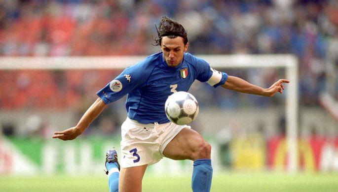 Легенда «Милана» Паоло Мальдини