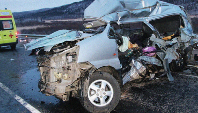 Траур в Забайкалье: в двух ДТП погибли 11 человек