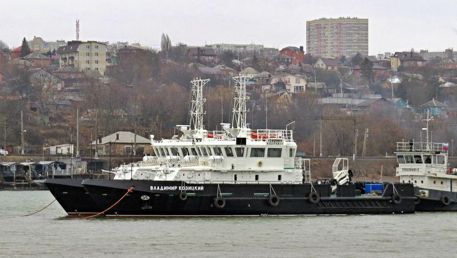 Черноморский флот получил новейший гидрографический катер Владимир Козицкий