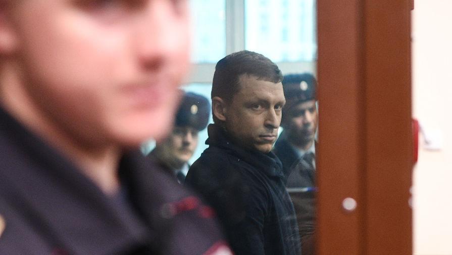 Футболист Павел Мамаев назаседании Тверского районного суда Москвы, 5 декабря 2018 года