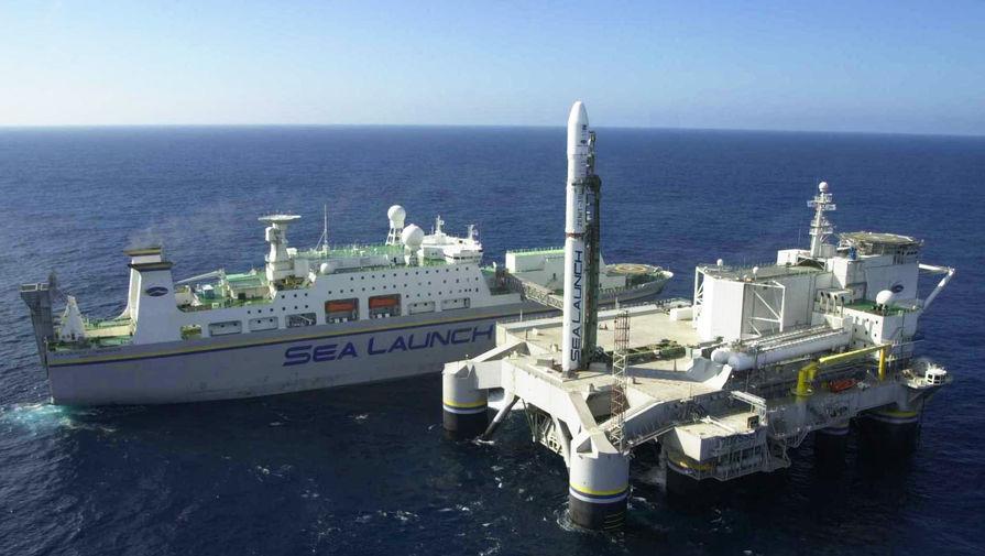 В порт базирования: «Морской старт» прибыл из США в Россию