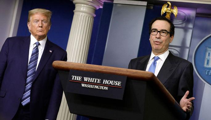 Угроза уничтожения экономики: Мнучин призвал снять карантин в США