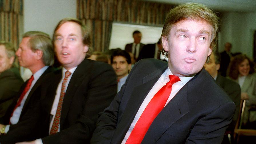 """""""Дорогой брат"""": в Нью-Йорке умер Роберт Трамп"""