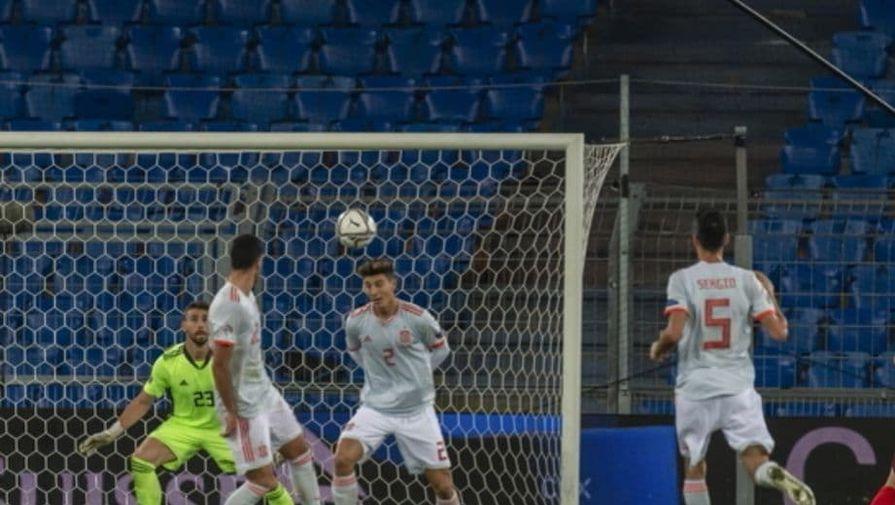 Матч Лиги наций Швейцария — Испания