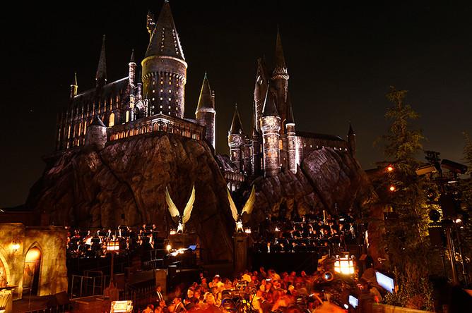 Открытие парка «Волшебный мир Гарри Поттера»