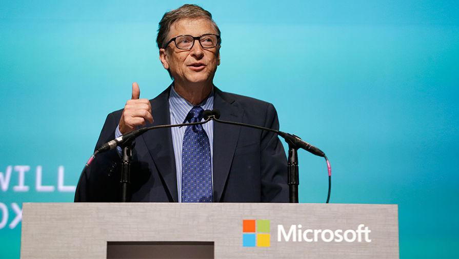 Билл Гейтс на собрании акционеров Microsoft в Белвью, штат Вашингтон, 2013 год
