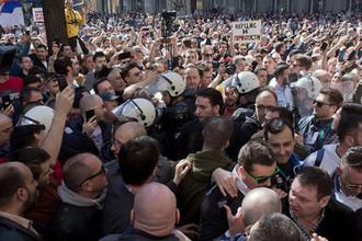 Протесты в Белграде, 17 марта 2019 года