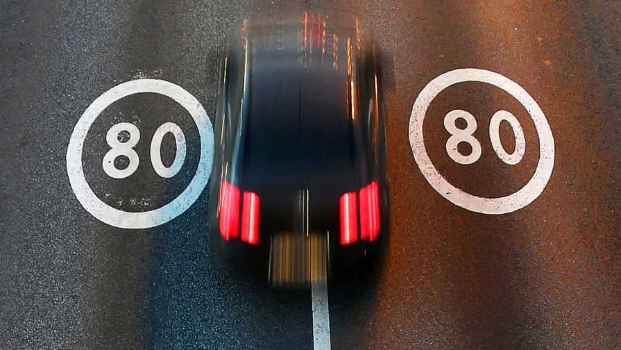 На дорогах начали тестировать новые динамические знаки