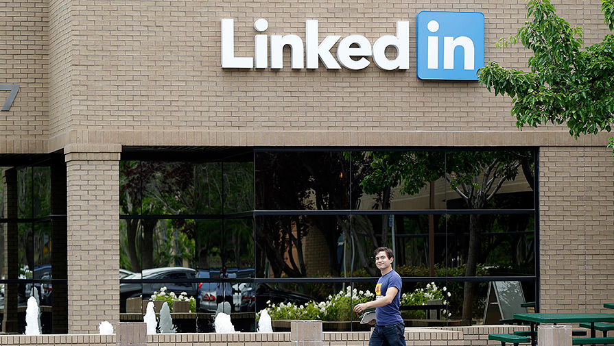 Штаб-квартира LinkedIn в Калифорнии, 2014 год
