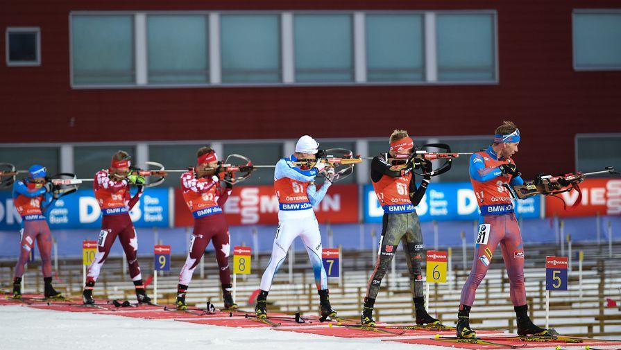 Международный союз биатлонистов может отстранить российских спортсменов от соревнований