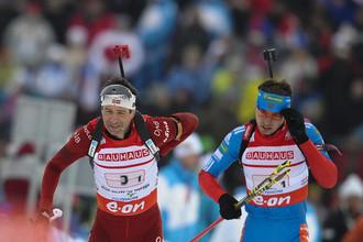 Совсем недавно Уле-Эйнар Бьорндален (слева) и Антон Шипулин соперничали на трассе. Весьма вероятно, теперь норвежец будет тренировать россиянина.