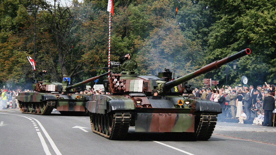 В Польше решили вернуть в армию советские танки Т-72