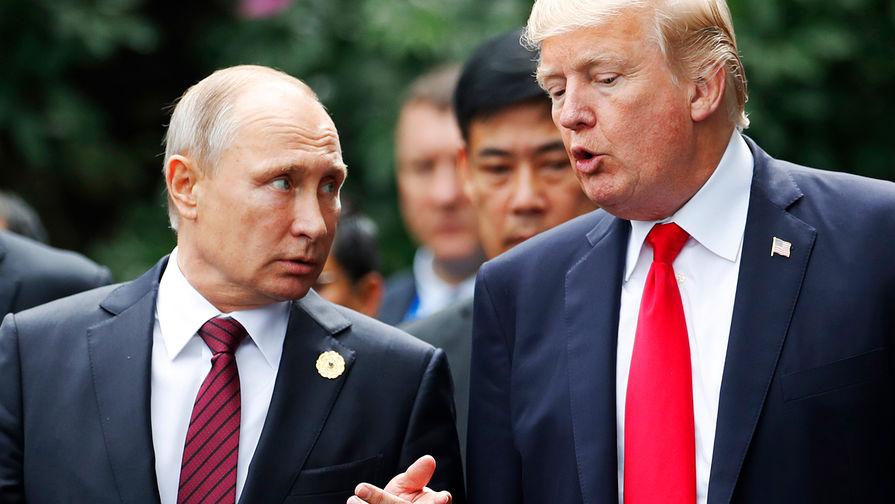 Нефть и COVID-19: о чем договорились Путин и Трамп