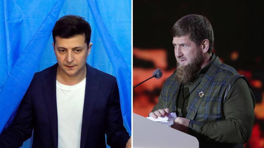 Кадыров потребовал от Зеленского извиниться и стать мужчиной