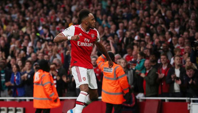 Пьер-Эмерик Обамеянг принес «Арсеналу» волевую победу над «Астон Виллой» в самом конце