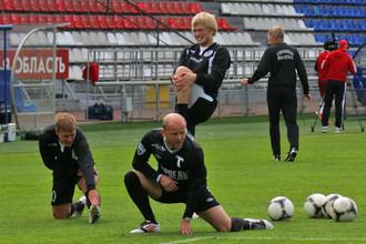 Денис Бояринцев вернулся на газон стадиона в Раменском в майке «Торпедо»