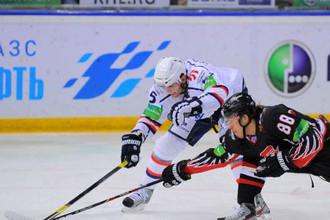 «Авангард» одержал очередную победу в чемпионате КХЛ