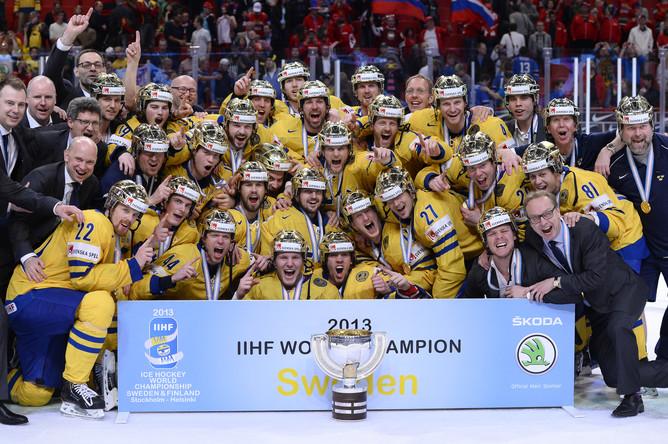 Сборная Швеции- триумфатор чемпионата мира 2013 года