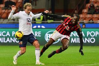 «Милан» не смог обыграть «Дженоа» на «Сан-Сиро»
