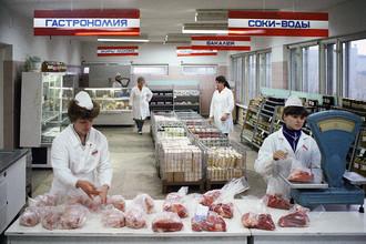 Продуктовый магазин, 1983 год